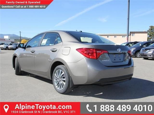 2018 Toyota Corolla LE (Stk: C977989) in Cranbrook - Image 3 of 18