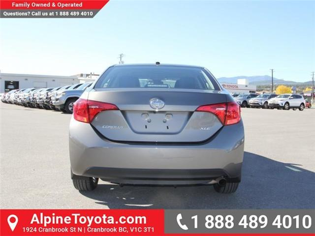 2018 Toyota Corolla LE (Stk: C977989) in Cranbrook - Image 4 of 18