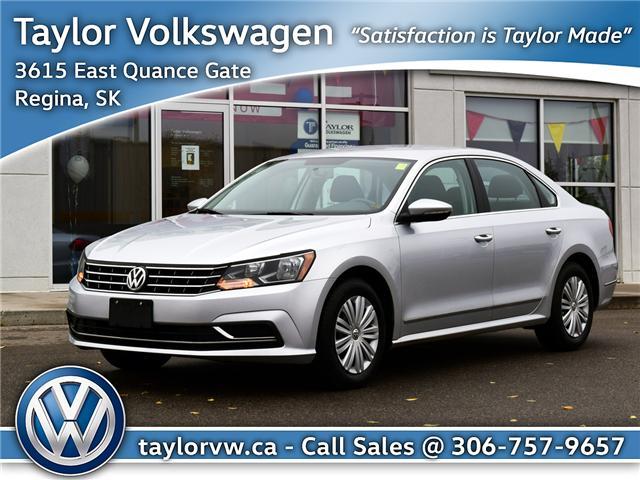 2016 Volkswagen Passat 1.8 TSI Trendline+ 1VWAS7A31GC051870 6296 in Regina