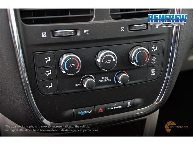 2017 Dodge Grand Caravan CVP/SXT (Stk: SLH239) in Renfrew - Image 17 of 20