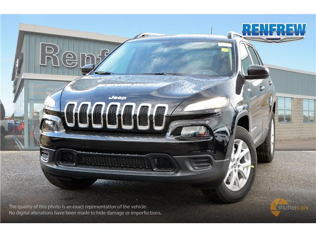 2018 Jeep Cherokee Sport (Stk: J015) in Renfrew - Image 1 of 20