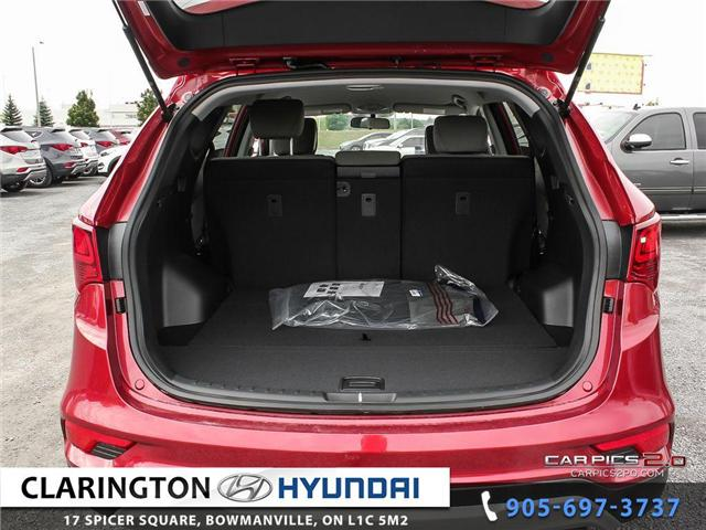 2018 Hyundai Santa Fe Sport 2.4 Base (Stk: 17749) in Clarington - Image 26 of 27
