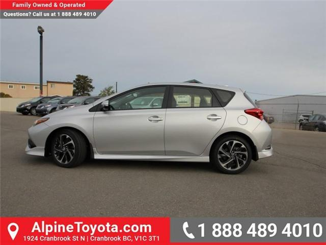 2018 Toyota Corolla iM Base (Stk: J553557) in Cranbrook - Image 2 of 17