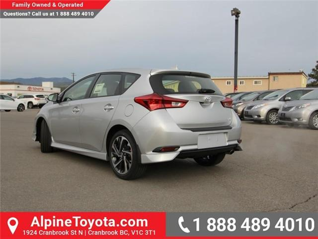 2018 Toyota Corolla iM Base (Stk: J553557) in Cranbrook - Image 3 of 17