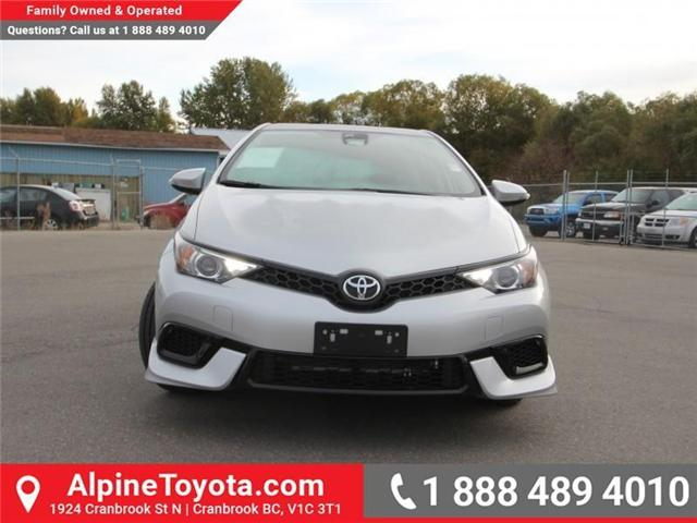 2018 Toyota Corolla iM Base (Stk: J553557) in Cranbrook - Image 8 of 17