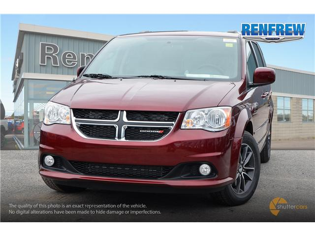 2017 Dodge Grand Caravan CVP/SXT (Stk: SLH284) in Renfrew - Image 1 of 20