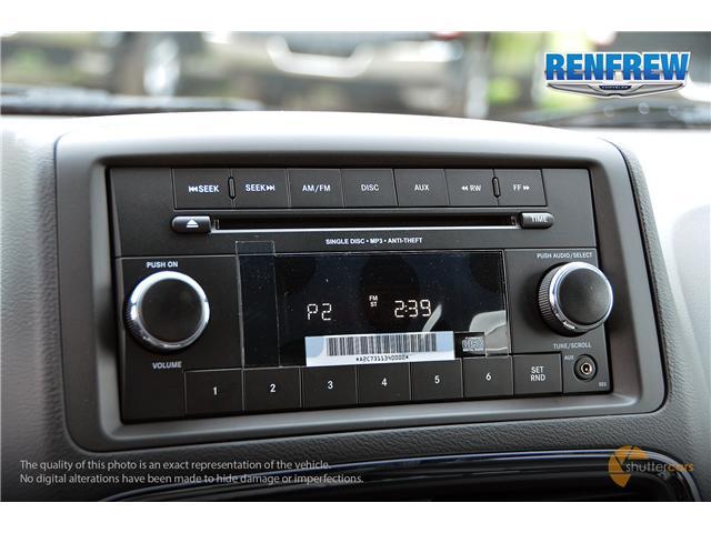 2017 Dodge Grand Caravan CVP/SXT (Stk: SLH268) in Renfrew - Image 17 of 20