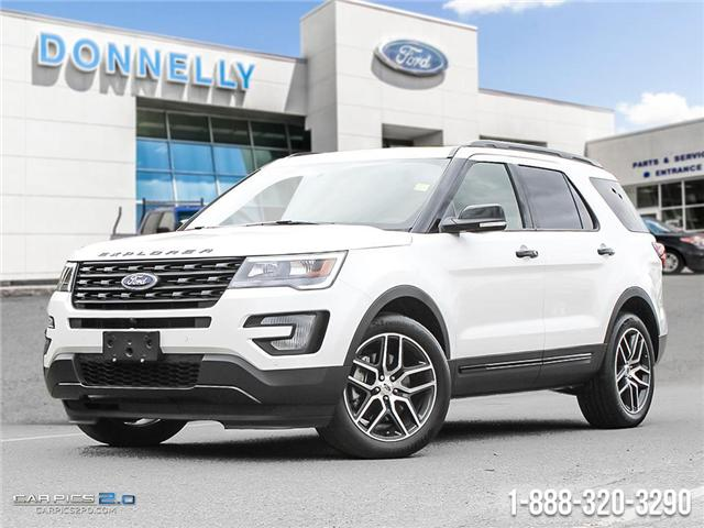 2017 Ford Explorer Sport (Stk: DQ2042) in Ottawa - Image 1 of 27