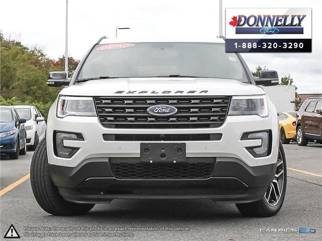 2017 Ford Explorer Sport (Stk: DQ2042) in Ottawa - Image 2 of 27