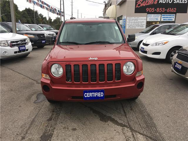 2009 Jeep Patriot Sport 4WD (Stk: P3266) in Newmarket - Image 2 of 20