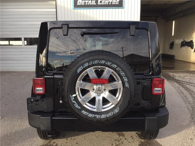 2017 Jeep Wrangler Unlimited Sahara (Stk: 11695) in Fort Macleod - Image 4 of 18