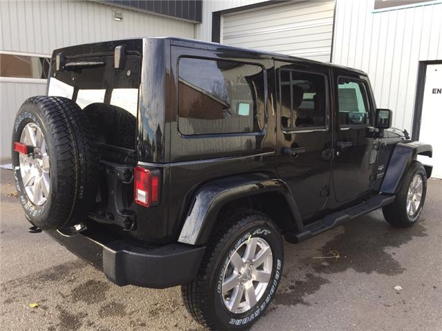 2017 Jeep Wrangler Unlimited Sahara (Stk: 11695) in Fort Macleod - Image 5 of 18