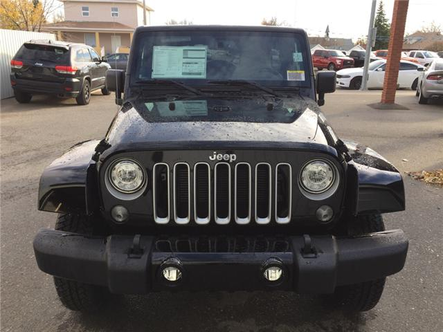 2017 Jeep Wrangler Unlimited Sahara (Stk: 11695) in Fort Macleod - Image 8 of 18