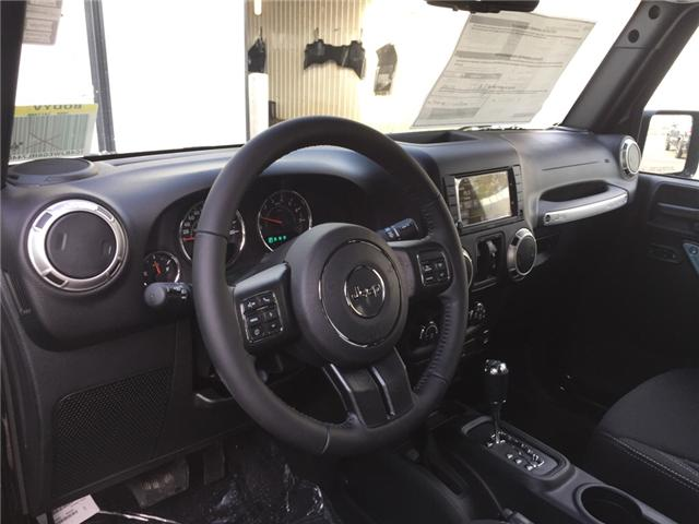2017 Jeep Wrangler Unlimited Sahara (Stk: 11695) in Fort Macleod - Image 13 of 18
