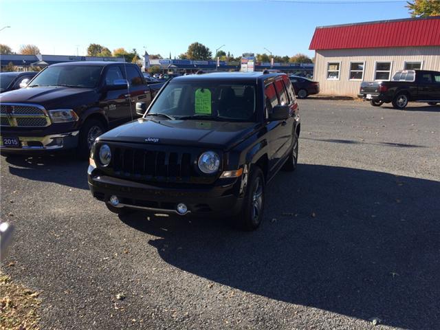 2017 Jeep Patriot Sport/North (Stk: svg2) in Morrisburg - Image 1 of 5