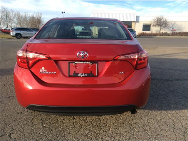 2017 Toyota Corolla LE (Stk: 6885) in Moose Jaw - Image 6 of 13