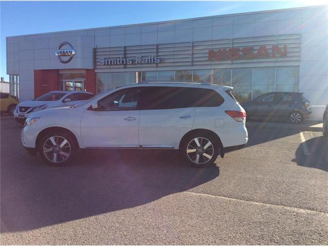2013 Nissan Pathfinder Platinum (Stk: 17-488A) in Smiths Falls - Image 1 of 13