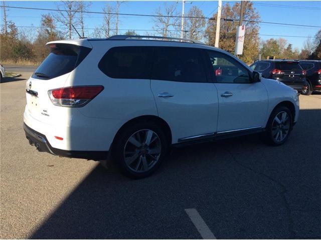 2013 Nissan Pathfinder Platinum (Stk: 17-488A) in Smiths Falls - Image 8 of 13