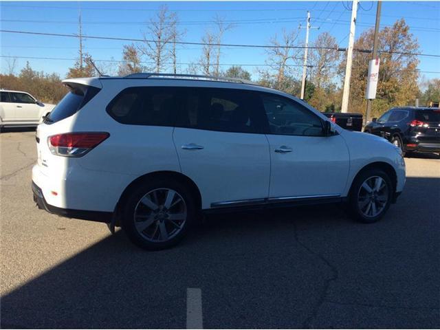 2013 Nissan Pathfinder Platinum (Stk: 17-488A) in Smiths Falls - Image 9 of 13