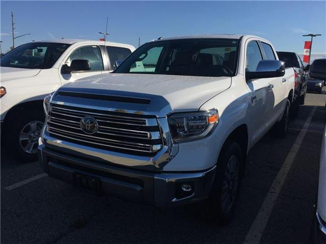 2018 Toyota Tundra Platinum 5.7L V8 (Stk: 8TN100) in Georgetown - Image 1 of 5