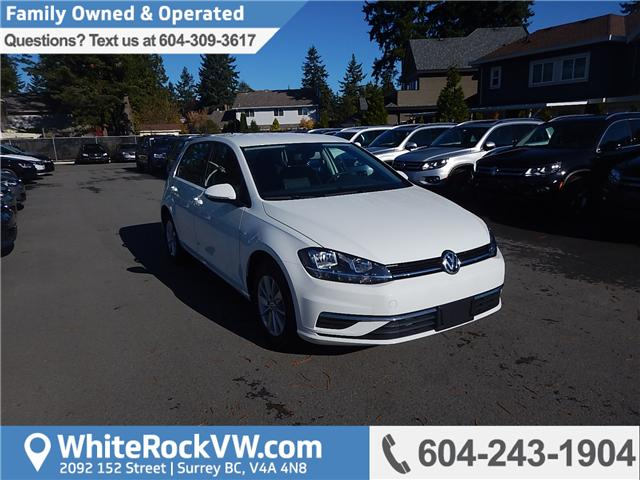 2018 Volkswagen Golf 1.8 TSI Comfortline (Stk: JG252338) in Surrey - Image 1 of 20