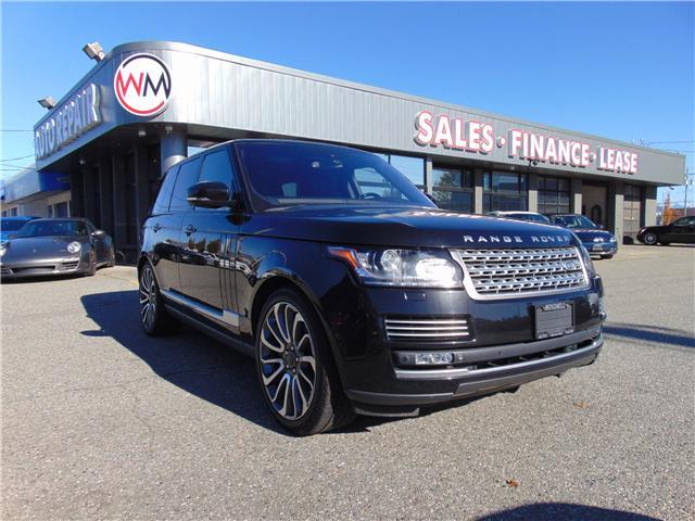 2015 Land Rover Range Rover 5.0L V8 Supercharged Autobiography (Stk: 15-213987) in Abbotsford - Image 1 of 18
