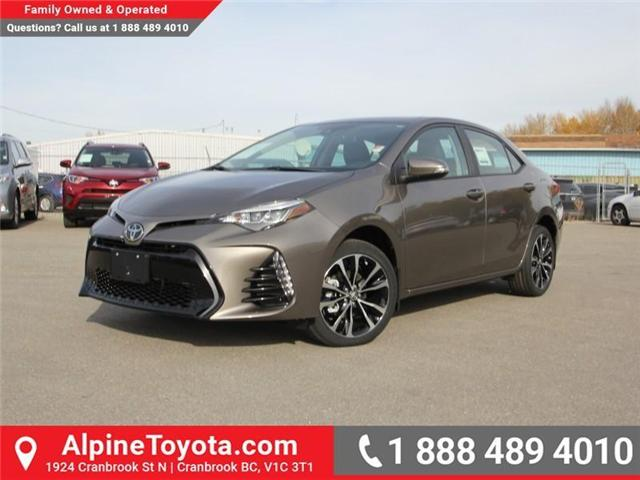 2018 Toyota Corolla SE (Stk: C976943) in Cranbrook - Image 1 of 19