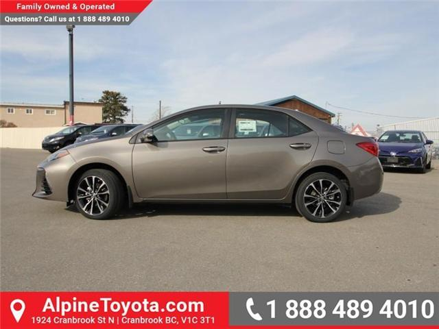 2018 Toyota Corolla SE (Stk: C976943) in Cranbrook - Image 2 of 19