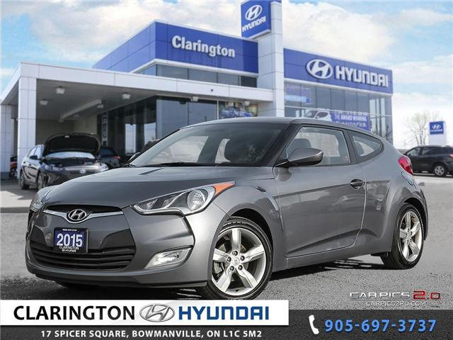 2015 Hyundai Veloster Base (Stk: 17946A) in Clarington - Image 1 of 27