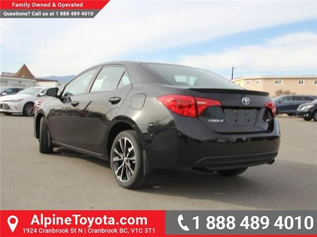 2018 Toyota Corolla SE (Stk: C980046) in Cranbrook - Image 3 of 18