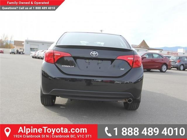 2018 Toyota Corolla SE (Stk: C980046) in Cranbrook - Image 4 of 18