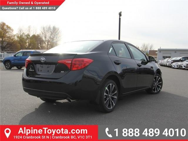 2018 Toyota Corolla SE (Stk: C980046) in Cranbrook - Image 5 of 18
