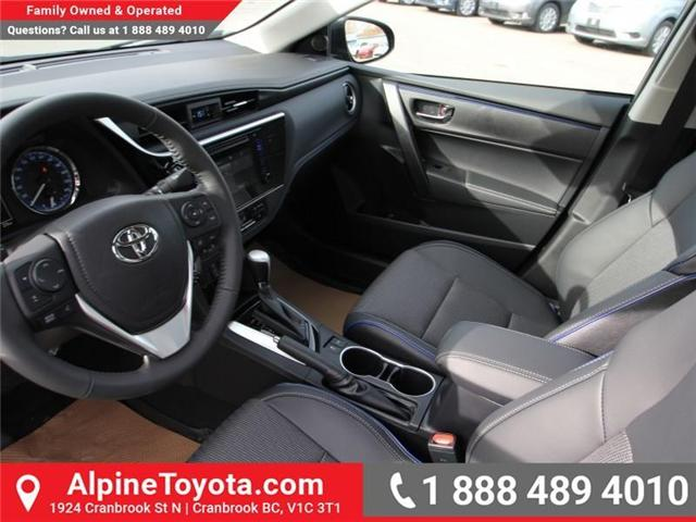 2018 Toyota Corolla SE (Stk: C980046) in Cranbrook - Image 9 of 18