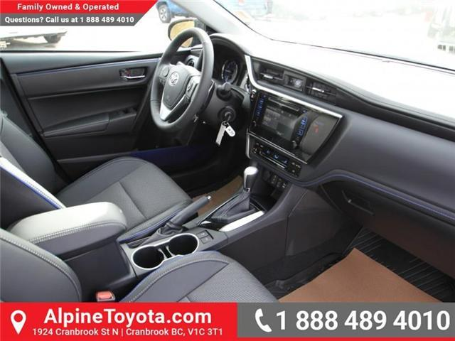 2018 Toyota Corolla SE (Stk: C980046) in Cranbrook - Image 11 of 18