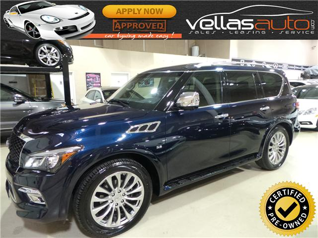 2017 Infiniti QX80  (Stk: NP0634) in Vaughan - Image 1 of 30
