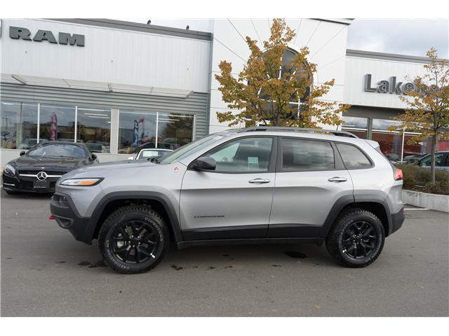 2018 Jeep Cherokee Trailhawk (Stk: 181056) in Thunder Bay - Image 2 of 17