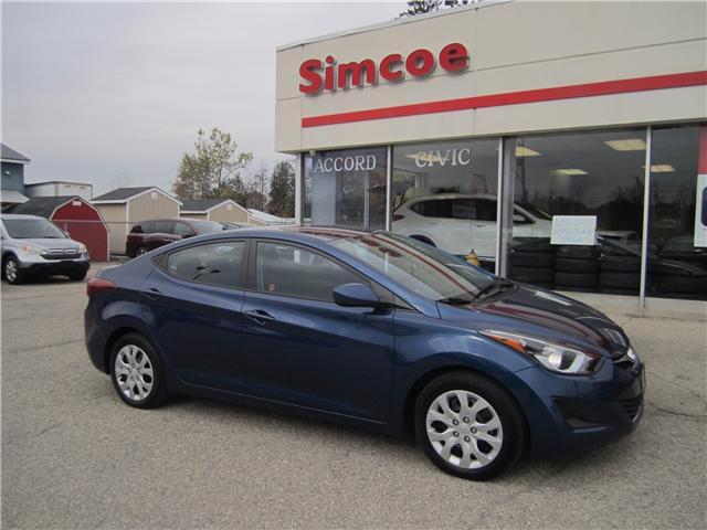 2016 Hyundai Elantra GL (Stk: 17168A) in Simcoe - Image 1 of 13