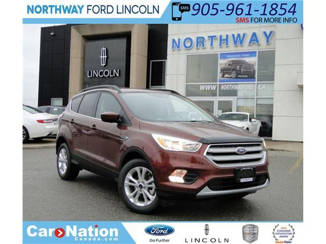 2018 Ford Escape | SE | 1.5L I-4 | FWD | CINNAMON GLAZE | (Stk: EC84857) in Brantford - Image 1 of 26