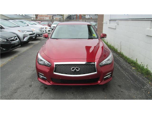 2016 Infiniti Q50 2.0T Base (Stk: 171625) in Richmond - Image 1 of 13
