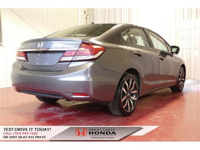 2014 Honda Civic Touring (Stk: HP452) in Sault Ste. Marie - Image 6 of 23