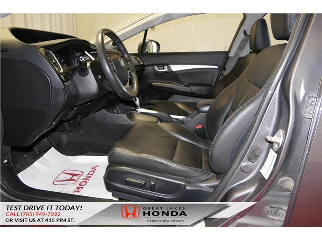 2014 Honda Civic Touring (Stk: HP452) in Sault Ste. Marie - Image 10 of 23
