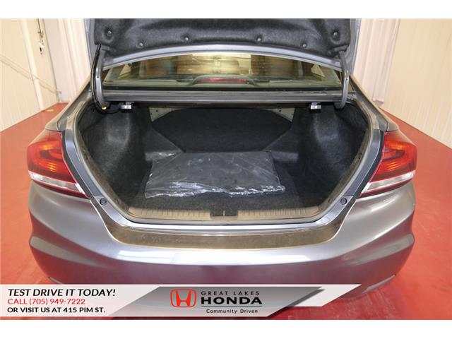 2014 Honda Civic Touring (Stk: HP452) in Sault Ste. Marie - Image 13 of 23