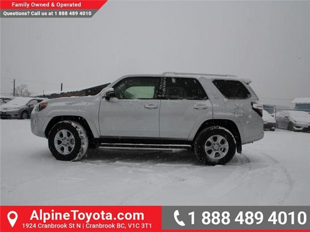 2018 Toyota 4Runner SR5 (Stk: 5501221) in Cranbrook - Image 2 of 15