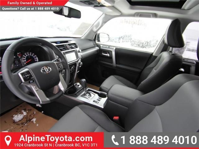 2018 Toyota 4Runner SR5 (Stk: 5501221) in Cranbrook - Image 9 of 15
