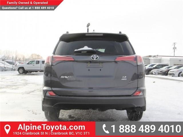 2018 Toyota RAV4  (Stk: W701631) in Cranbrook - Image 4 of 14
