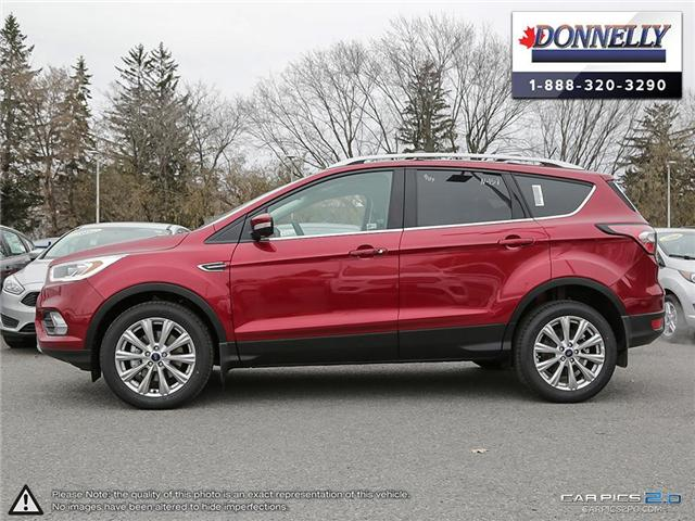 2018 Ford Escape Titanium (Stk: DR144) in Ottawa - Image 3 of 27