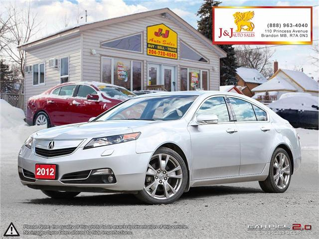 2012 Acura TL Elite (Stk: JB16124) in Brandon - Image 1 of 25