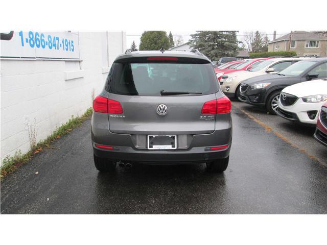 2013 Volkswagen Tiguan 2.0 TSI Comfortline (Stk: 171645) in North Bay - Image 4 of 14