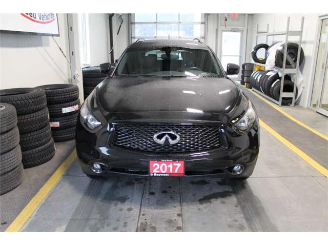 2017 Infiniti QX70 Sport (Stk: 17318) in Owen Sound - Image 2 of 16