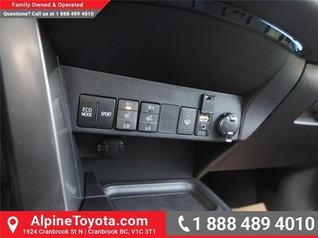 2018 Toyota RAV4  (Stk: W717259) in Cranbrook - Image 14 of 18